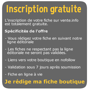 inscription boutique en ligne gratuite